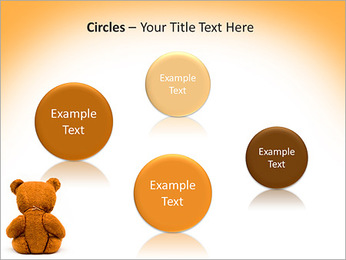 Brown Teddy Bear PowerPoint Template - Slide 57
