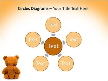 Brown Teddy Bear PowerPoint Template - Slide 58