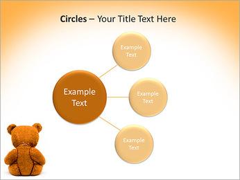 Brown Teddy Bear PowerPoint Template - Slide 59