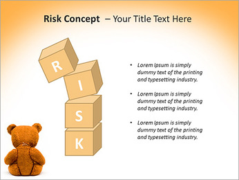 Brown Teddy Bear PowerPoint Template - Slide 61
