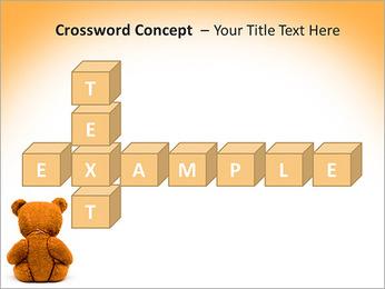 Brown Teddy Bear PowerPoint Template - Slide 62