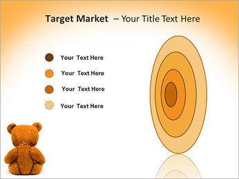 Brown Teddy Bear PowerPoint Template - Slide 64