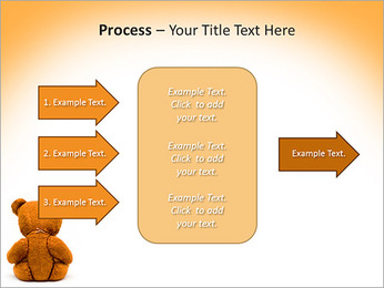 Brown Teddy Bear PowerPoint Template - Slide 65