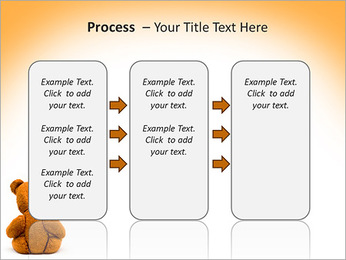 Brown Teddy Bear PowerPoint Template - Slide 66