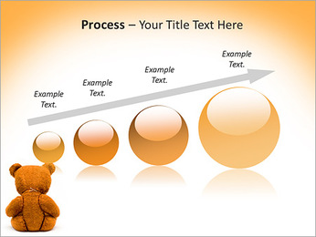 Brown Teddy Bear PowerPoint Template - Slide 67