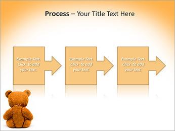 Brown Teddy Bear PowerPoint Template - Slide 68