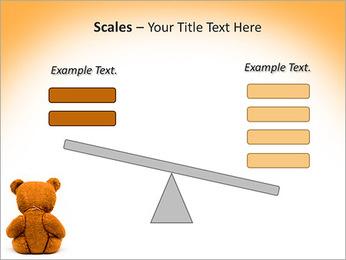 Brown Teddy Bear PowerPoint Template - Slide 69