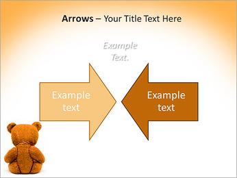 Brown Teddy Bear PowerPoint Templates - Slide 70