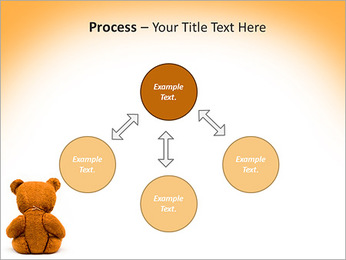 Brown Teddy Bear PowerPoint Templates - Slide 71