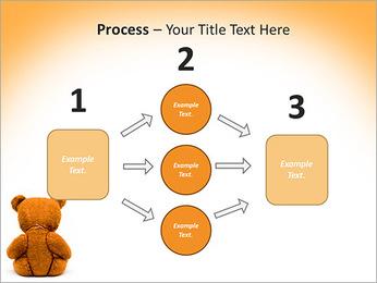 Brown Teddy Bear PowerPoint Template - Slide 72