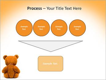 Brown Teddy Bear PowerPoint Template - Slide 73