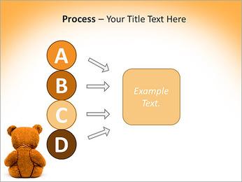 Brown Teddy Bear PowerPoint Templates - Slide 74