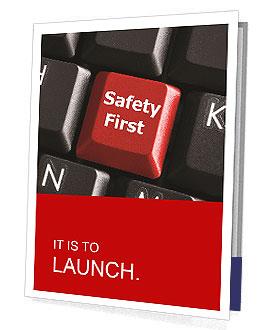 Safety First Button Presentation Folder