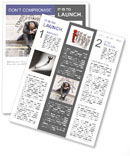 Stress At Work Newsletter Template