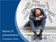 Stress At Work PowerPoint Templates