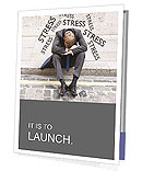 Stress At Work Presentation Folder