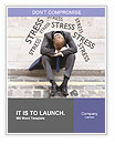 Stress At Work Word Template