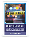 Police Line Ad Template