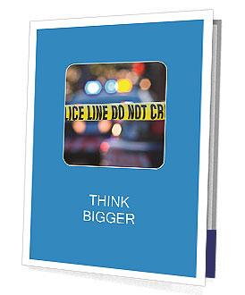 Police Line Presentation Folder