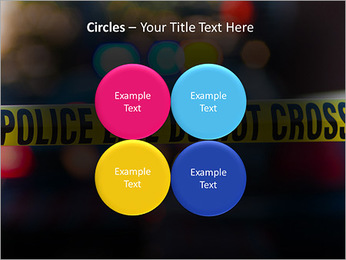 Police Line PowerPoint Template - Slide 18