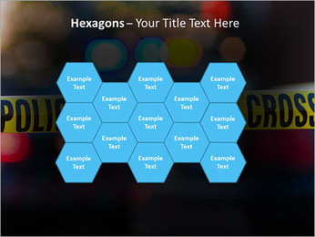 Police Line PowerPoint Template - Slide 24