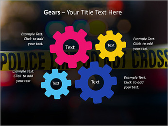 Police Line PowerPoint Template - Slide 27