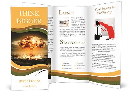 Big Explosion Brochure Templates