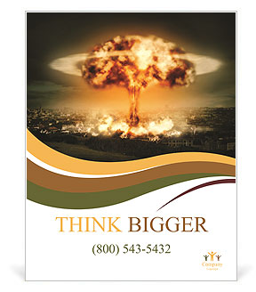 Big Explosion Poster Template