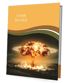Big Explosion Presentation Folder