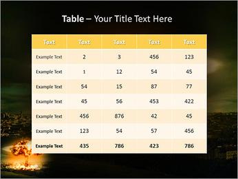 Big Explosion PowerPoint Templates - Slide 35