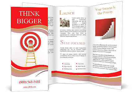 Reach Aim Brochure Template