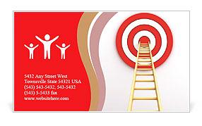 Reach Aim Business Card Template