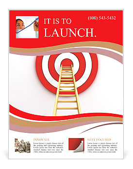 Reach Aim Flyer Template