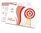 Reach Aim Postcard Template