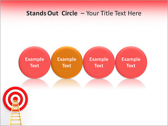 Reach Aim PowerPoint Template - Slide 56