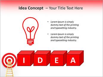 Reach Aim PowerPoint Template - Slide 60