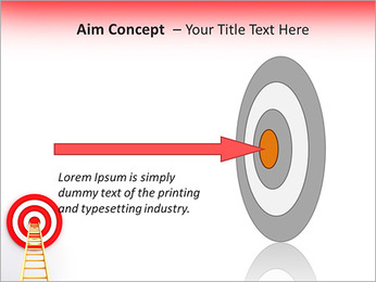 Reach Aim PowerPoint Templates - Slide 63