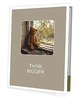 Lonely Teddy Bear Presentation Folder
