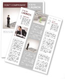 Business Labyrinth Newsletter Template