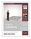 Business Labyrinth Poster Template