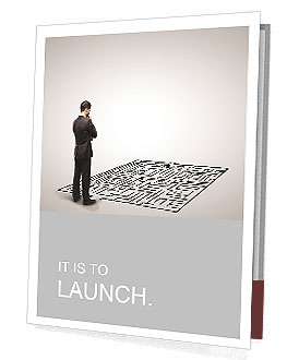 Business Labyrinth Presentation Folder
