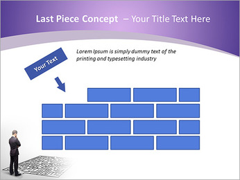 Business Labyrinth PowerPoint Templates - Slide 26