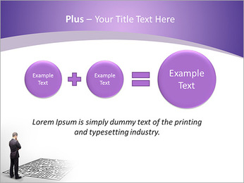 Business Labyrinth PowerPoint Templates - Slide 55