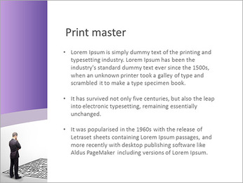 Business Labyrinth PowerPoint Templates - Slide 76