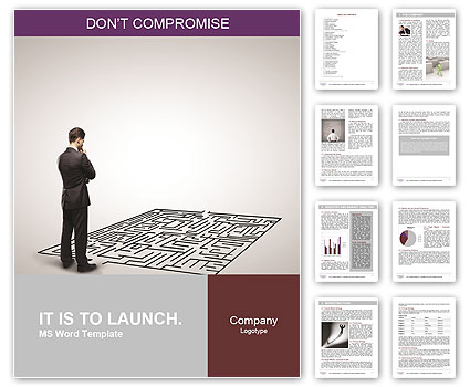 Business Labyrinth Word Template
