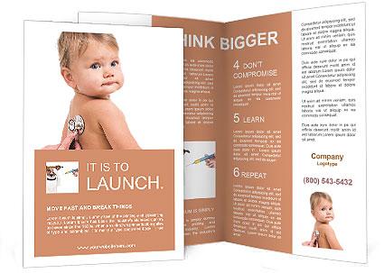 Sick Baby Brochure Templates