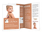 Sick Baby Brochure Template