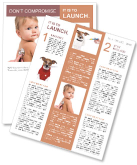 Sick Baby Newsletter Templates