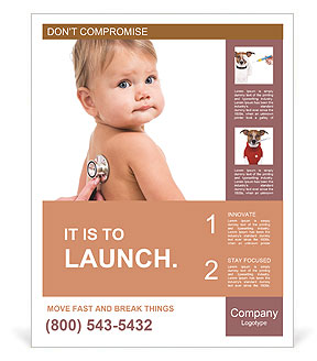 Sick Baby Poster Templates
