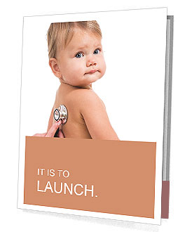 Sick Baby Presentation Folder